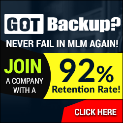 GET PAID 100% COMMISSIONS WITH GOT BACKUP