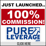 Pure Leverage: earn 100% commissions!